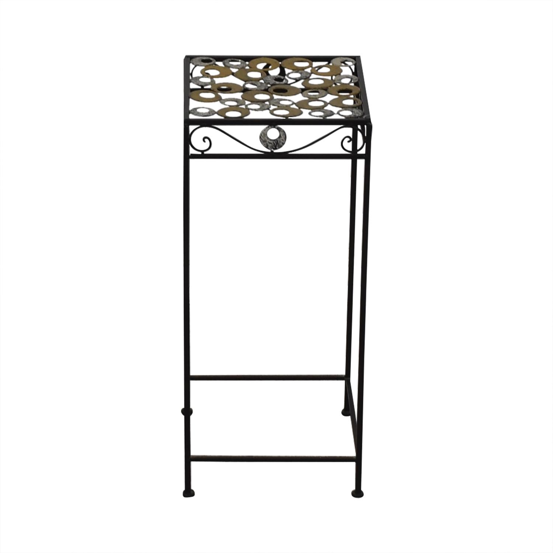 buy  Scrolled Metal Side Table online