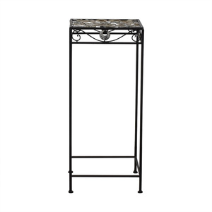 Scrolled Metal Side Table sale