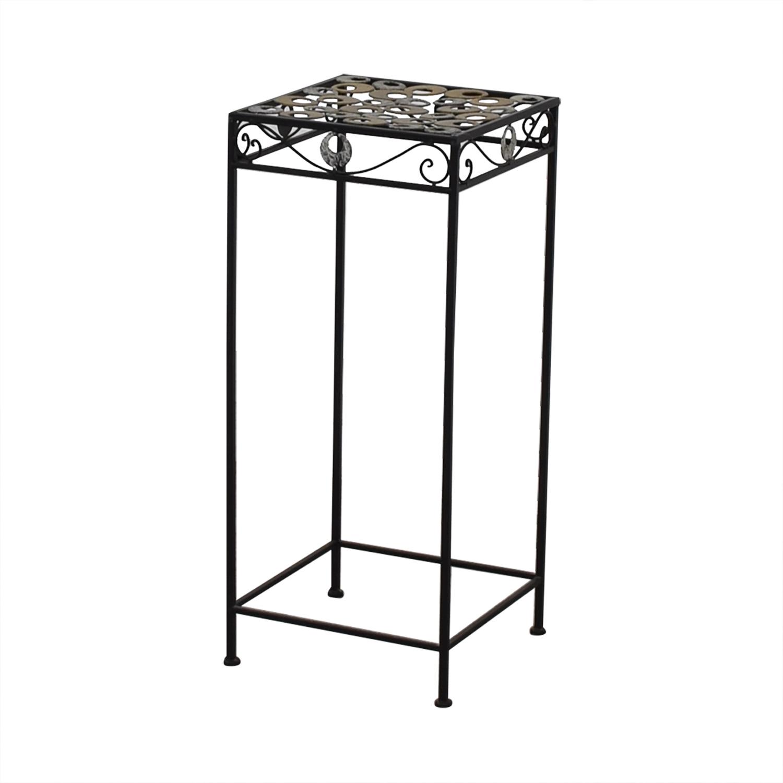 shop  Scrolled Metal Side Table online