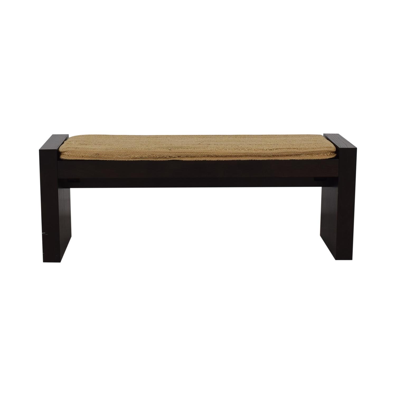 West Elm Terra Bench / Chairs