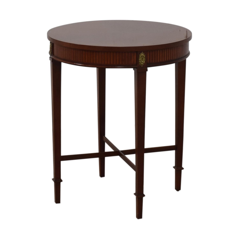 buy Baker Furniture Floral Embellished Side Table Baker Furniture Tables