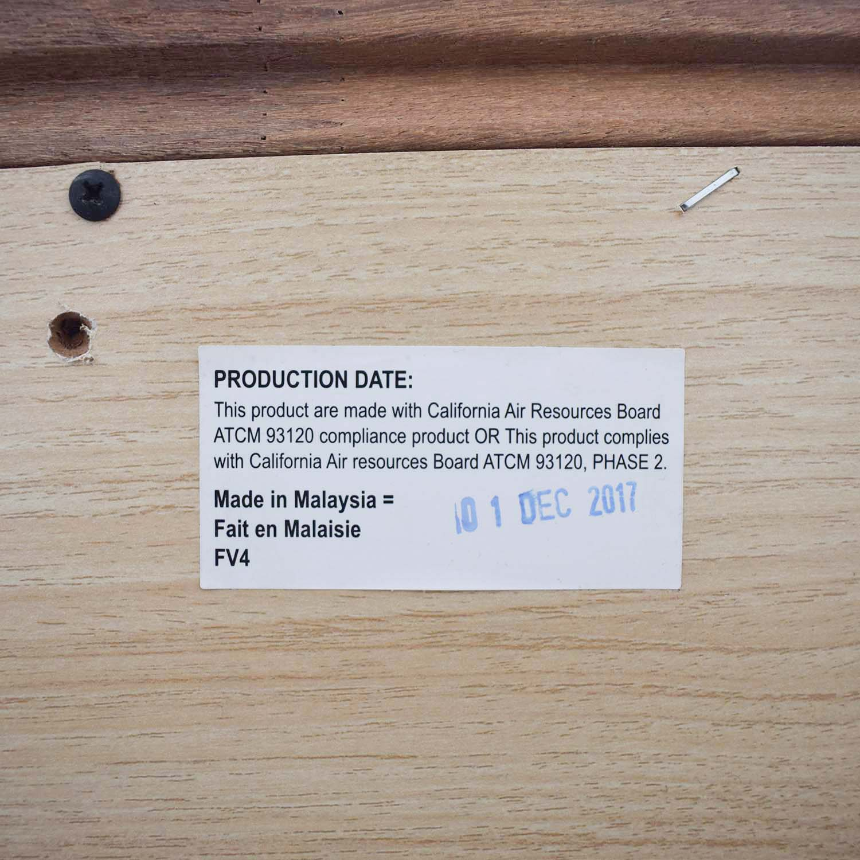 Modern White Six-Drawer Dresser white
