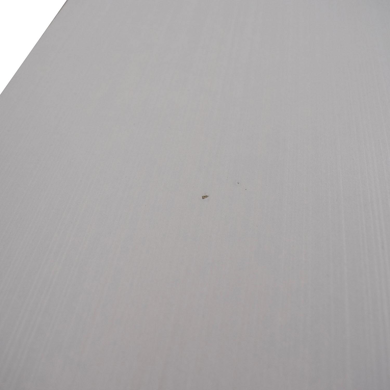 buy Modern White Six-Drawer Dresser