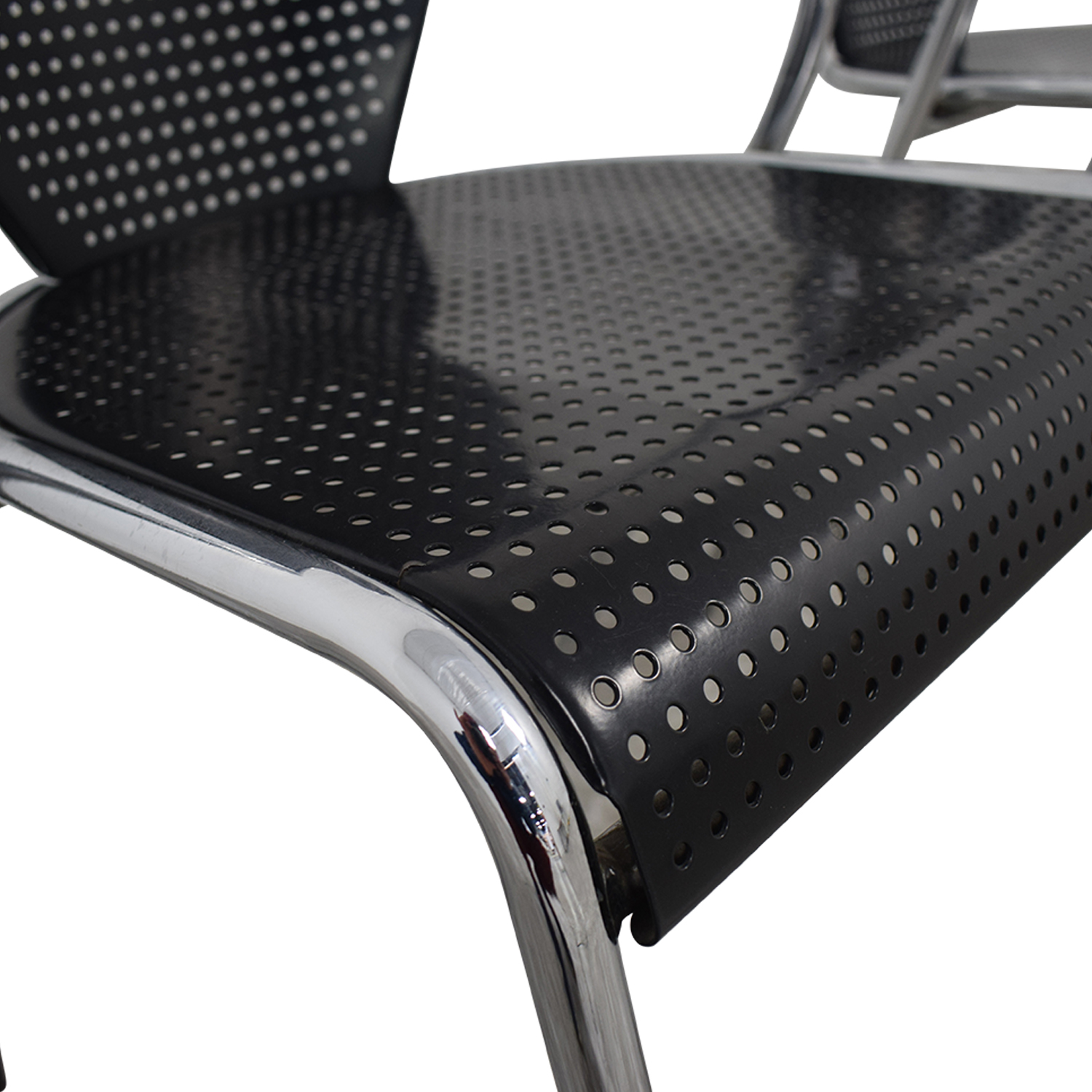 buy Manhattan Home Design Protech Black Chairs Manhattan Home Design