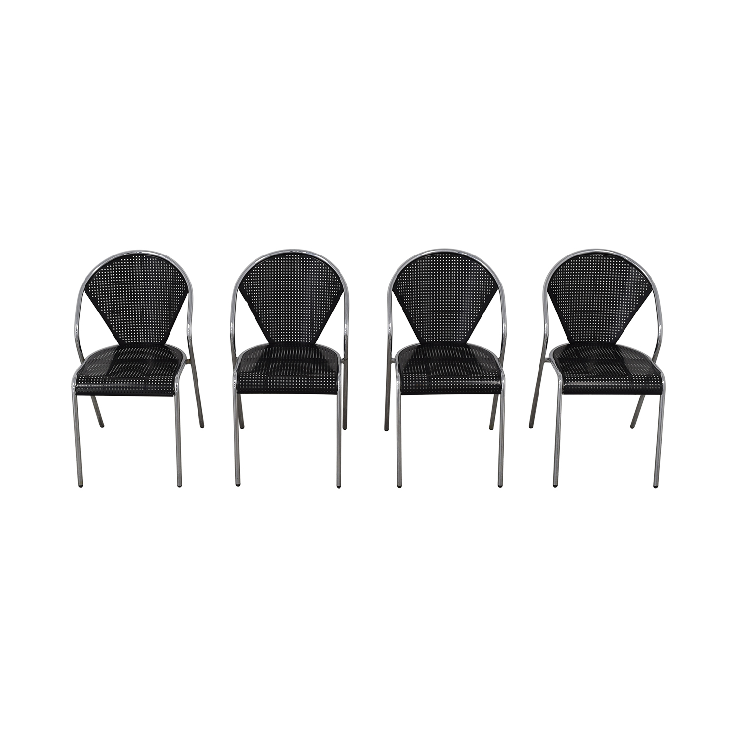 buy Manhattan Home Design Manhattan Home Design Protech Black Chairs online