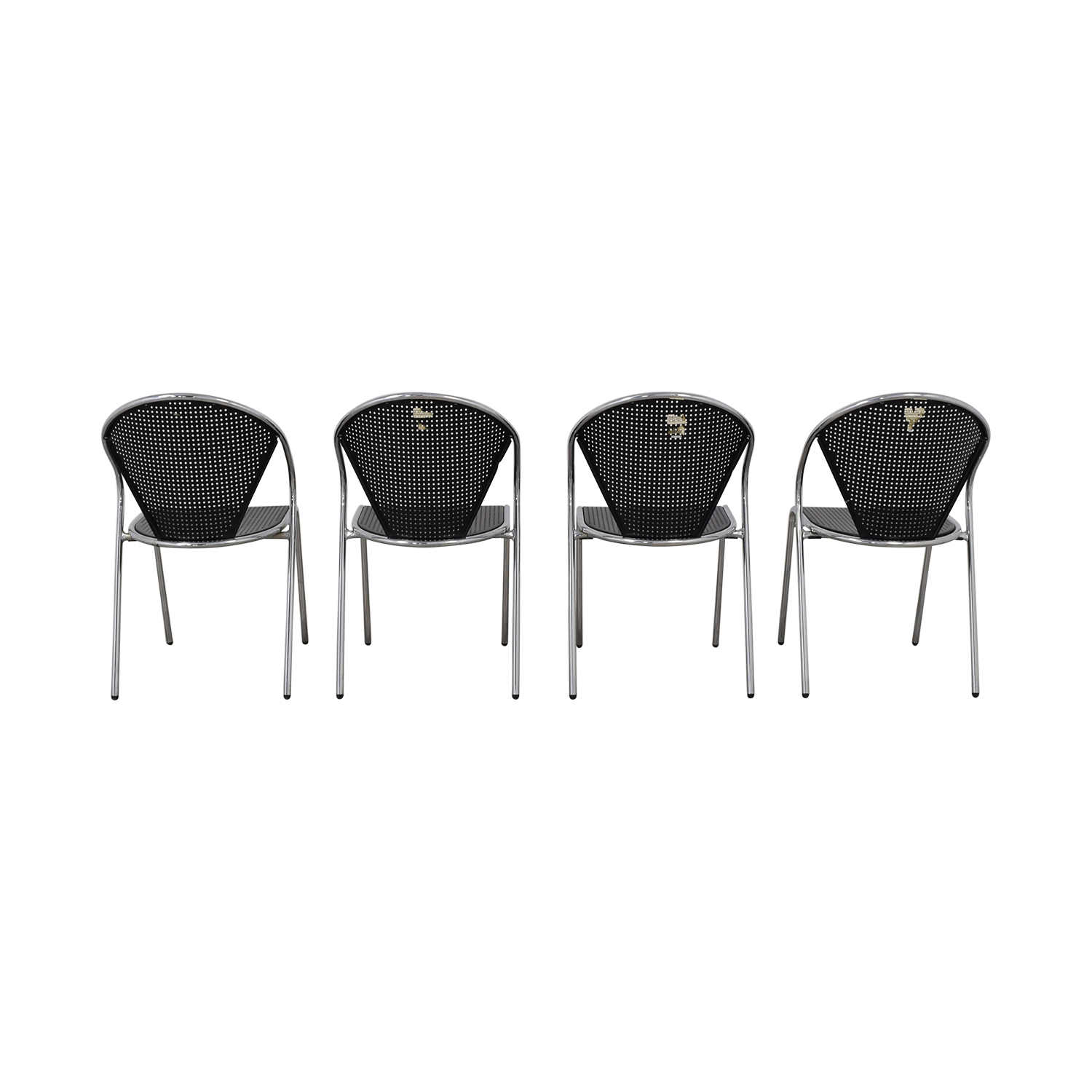 Manhattan Home Design Protech Black Chairs Manhattan Home Design