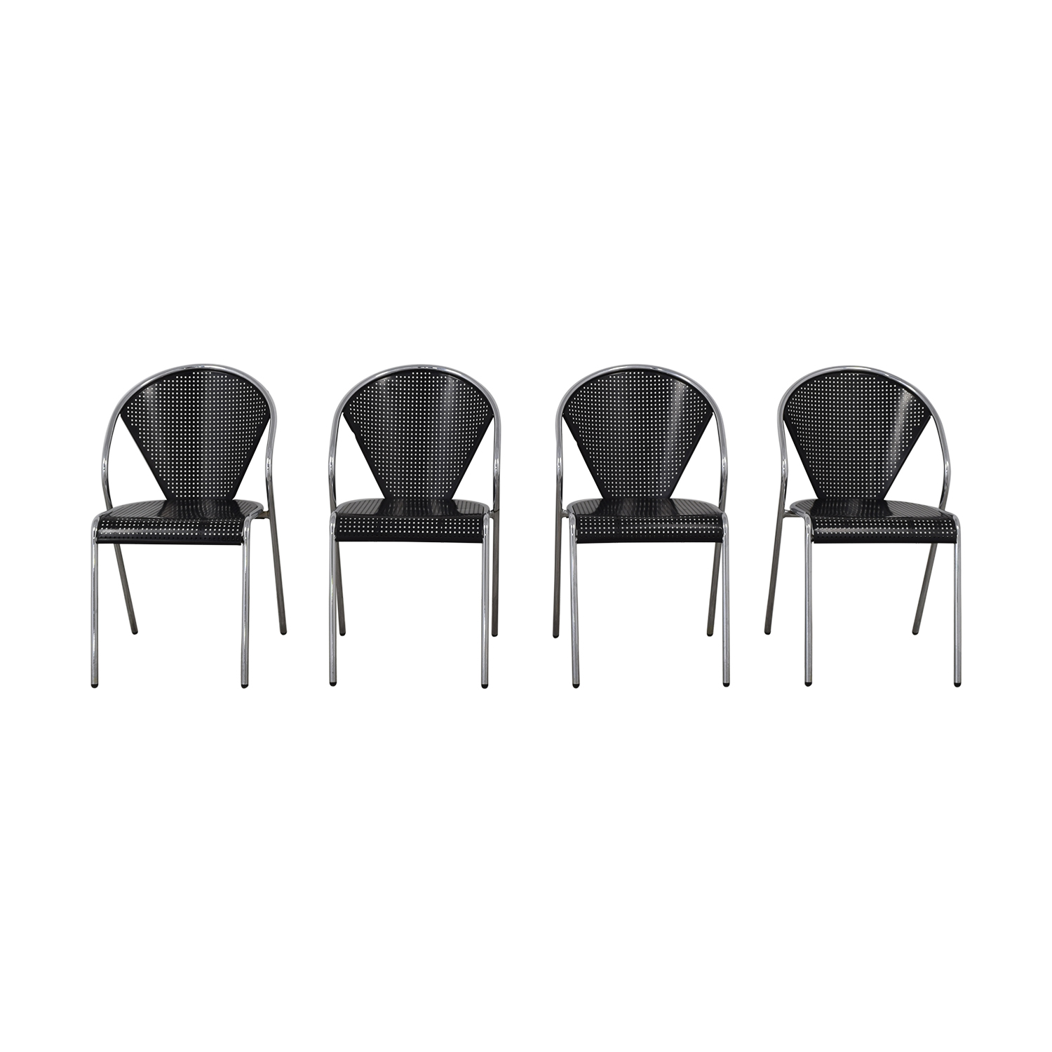 Manhattan Home Design Protech Black Chairs / Chairs