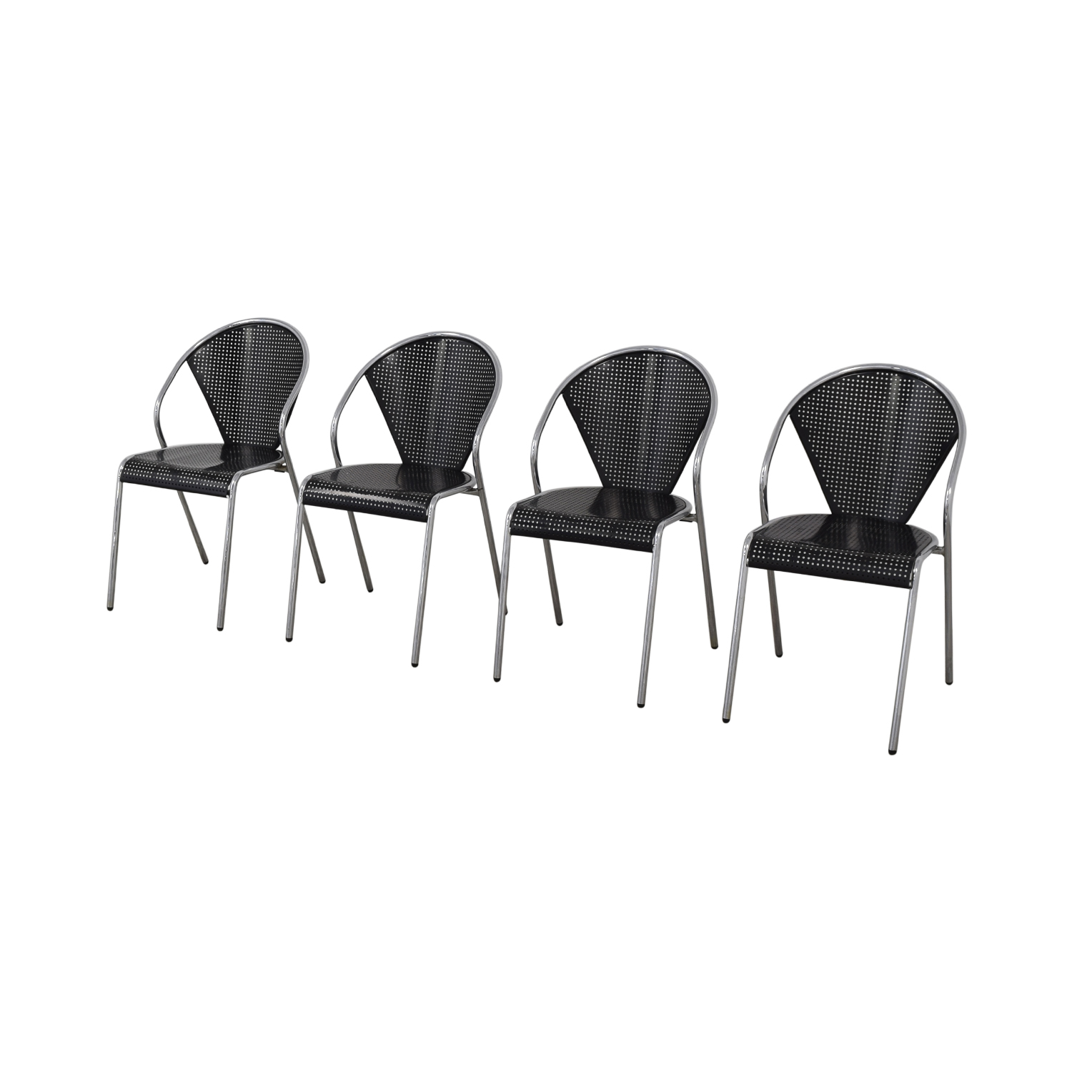shop Manhattan Home Design Protech Black Chairs Manhattan Home Design Chairs
