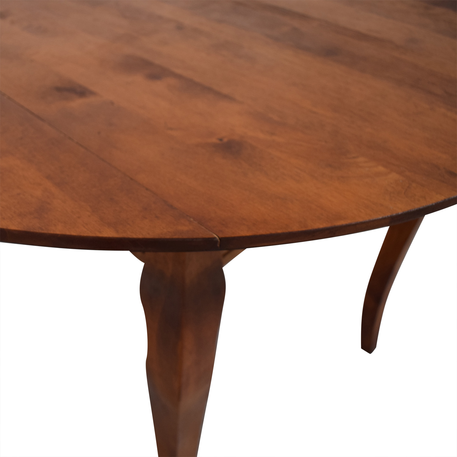 Folding Leaf Wood Dining Table / Tables