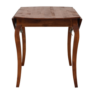 Folding Leaf Wood Dining Table for sale