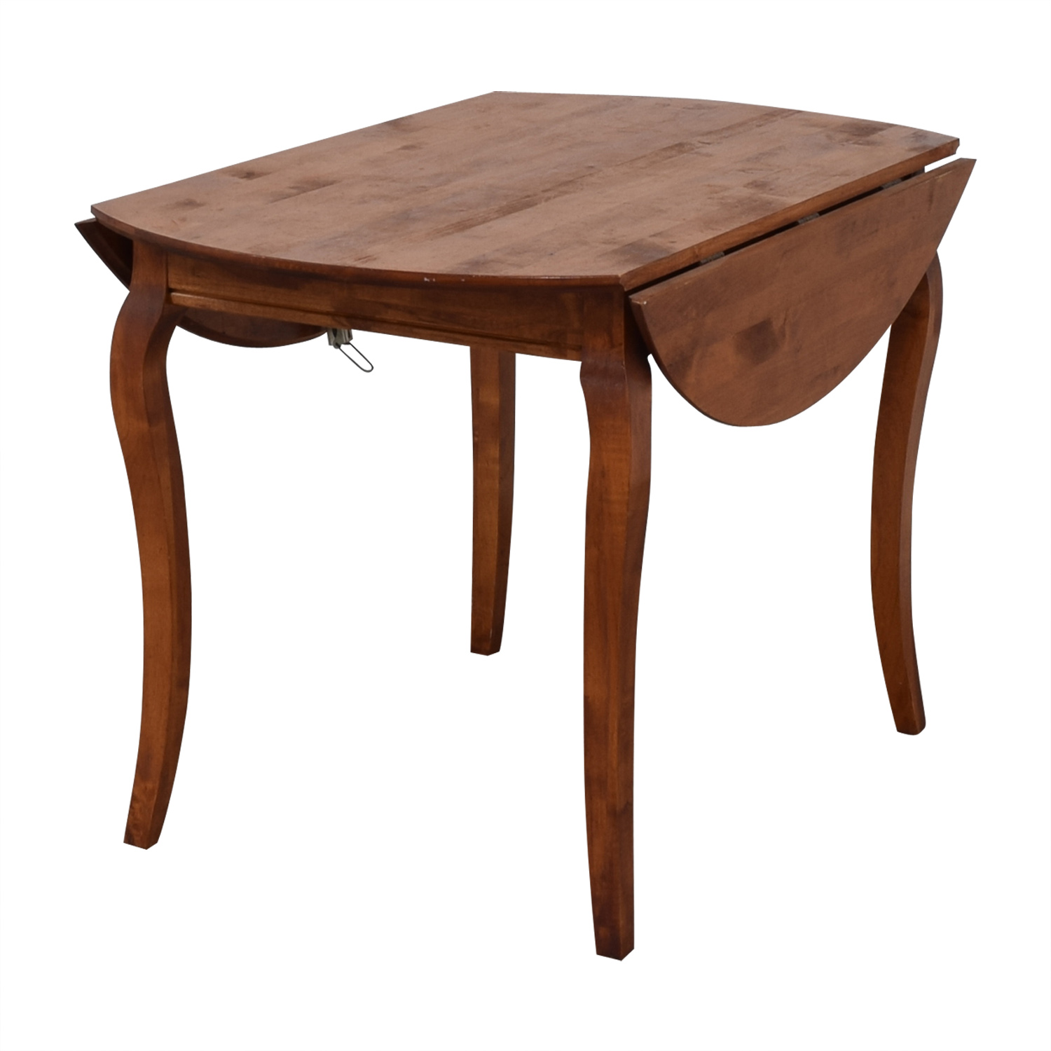 Folding Leaf Wood Dining Table dimensions