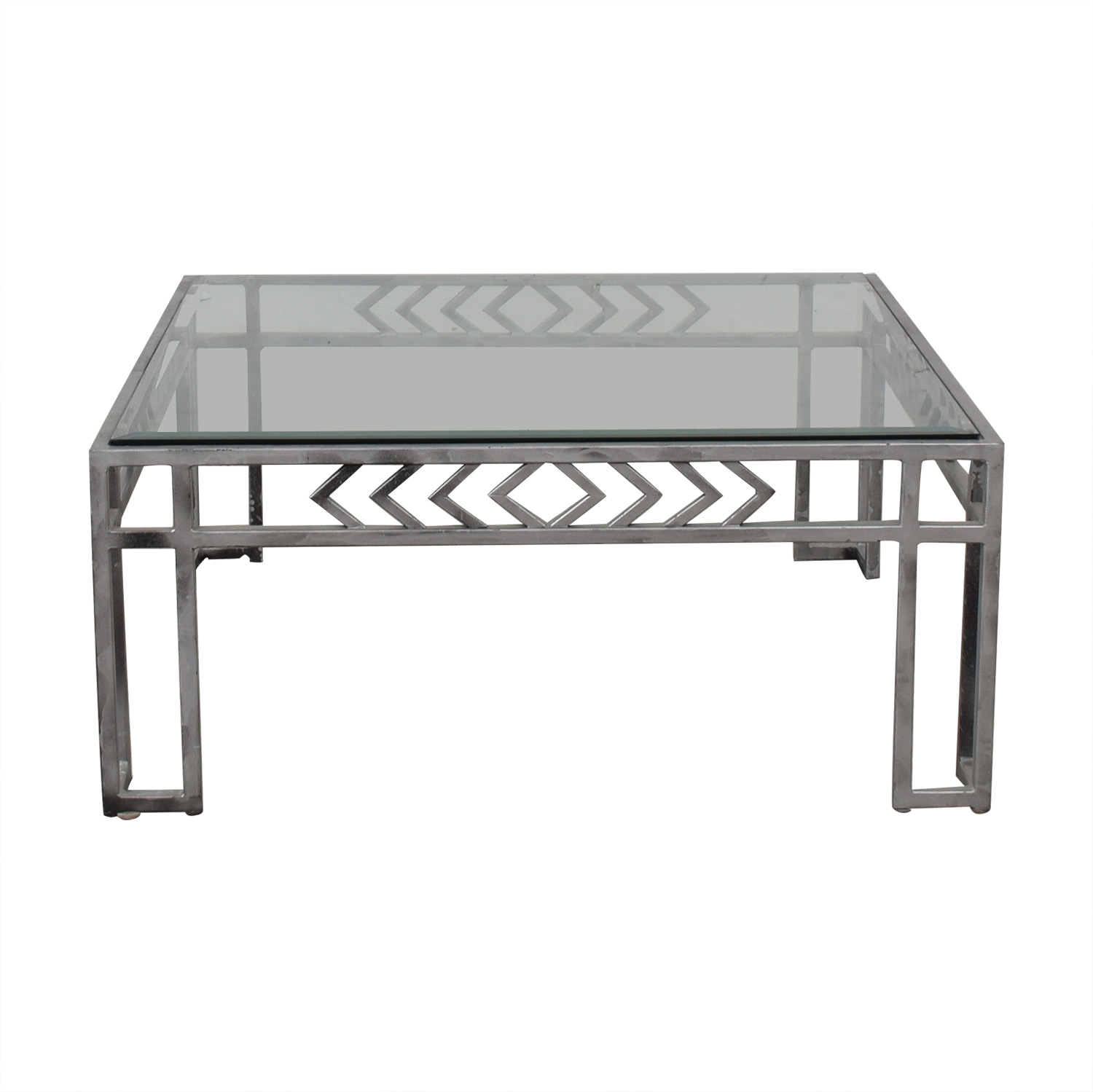 Glass Top Coffee Table dimensions