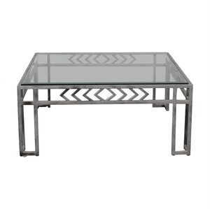 Glass Top Coffee Table discount