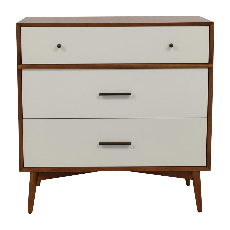 shop West Elm West Elm Mid-Century Three-Drawer Dresser online