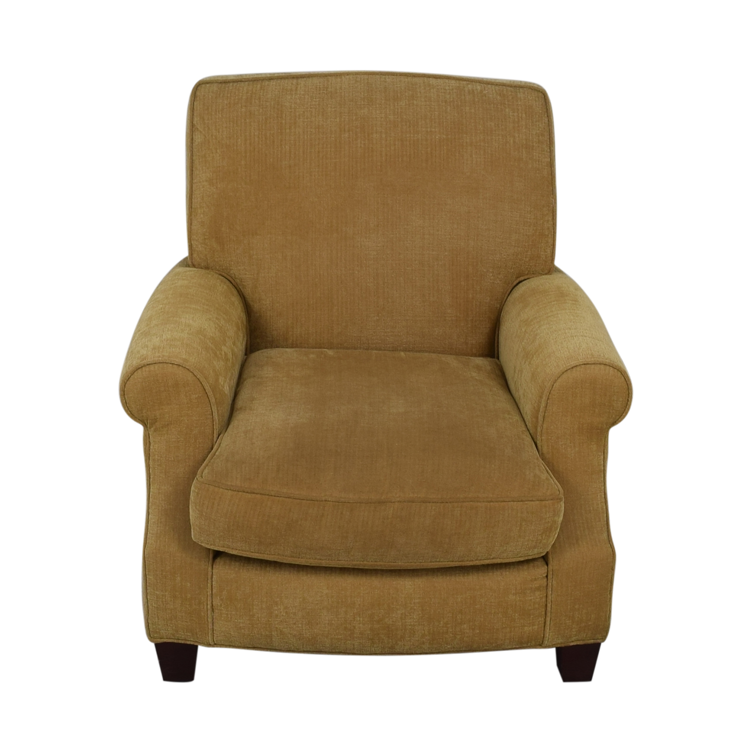 64 Off Crate Barrel Crate Barrel Yellow Gold Upholstered