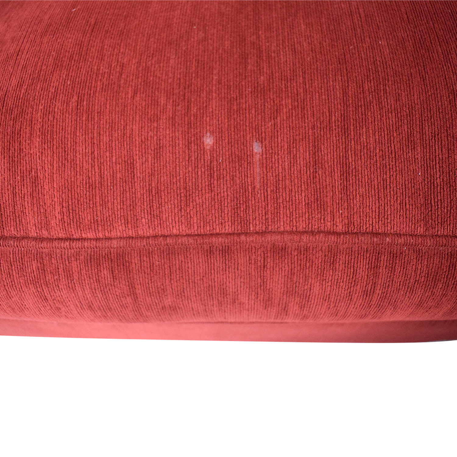 Retrospect Ruby Red L-Shaped Sectional Sofas