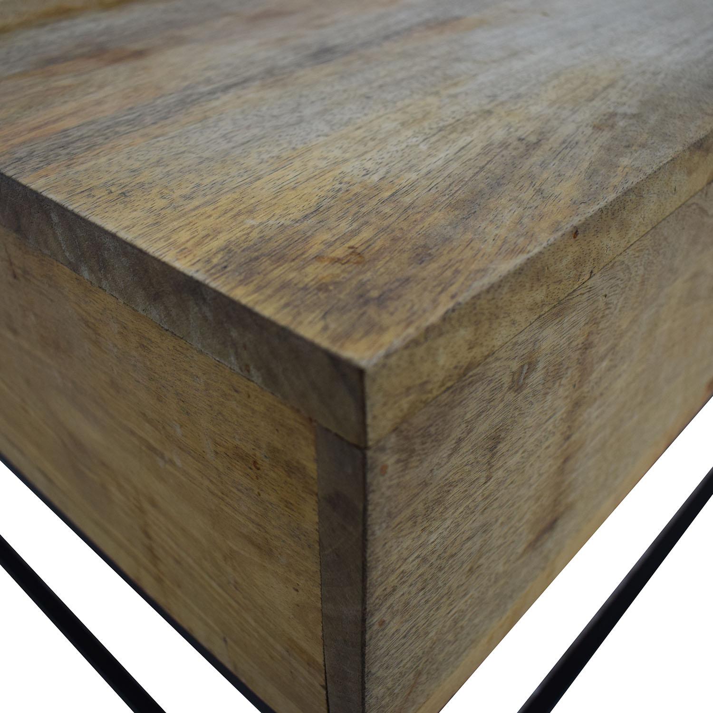 West Elm Industrial Storage Coffee Table / Coffee Tables