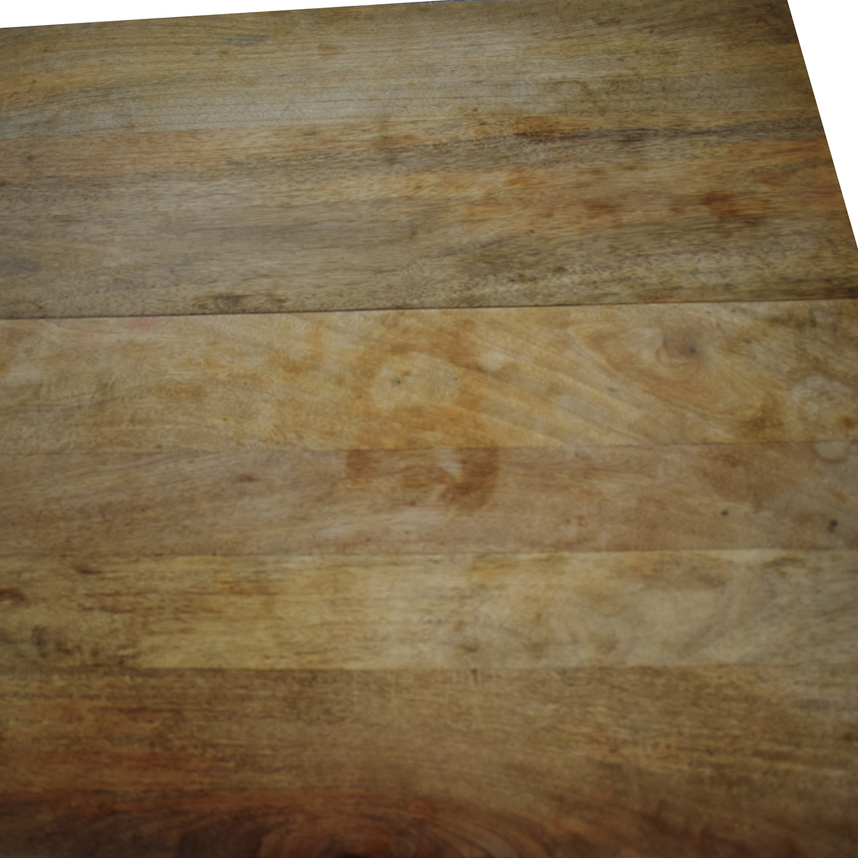 shop West Elm Industrial Storage Coffee Table West Elm