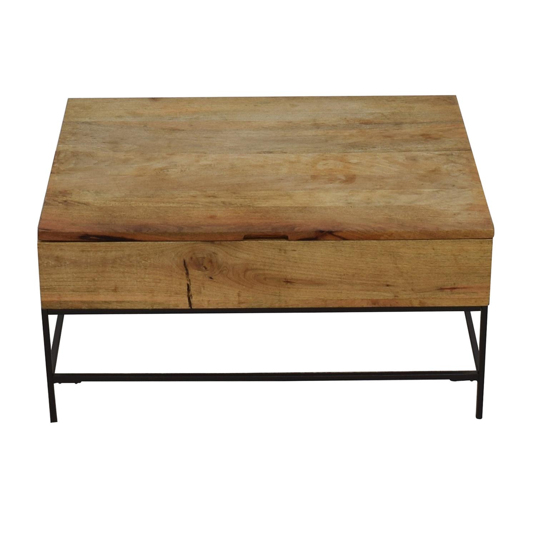 West Elm West Elm Industrial Storage Coffee Table used