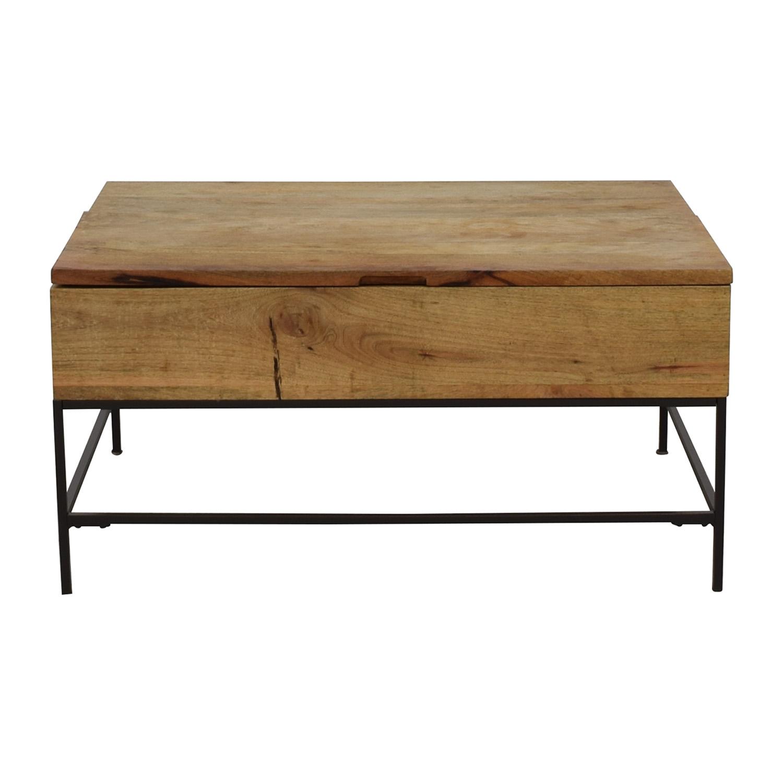 buy West Elm West Elm Industrial Storage Coffee Table online