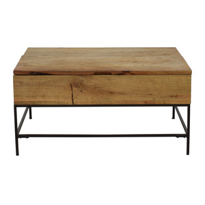 West Elm West Elm Industrial Storage Coffee Table dimensions