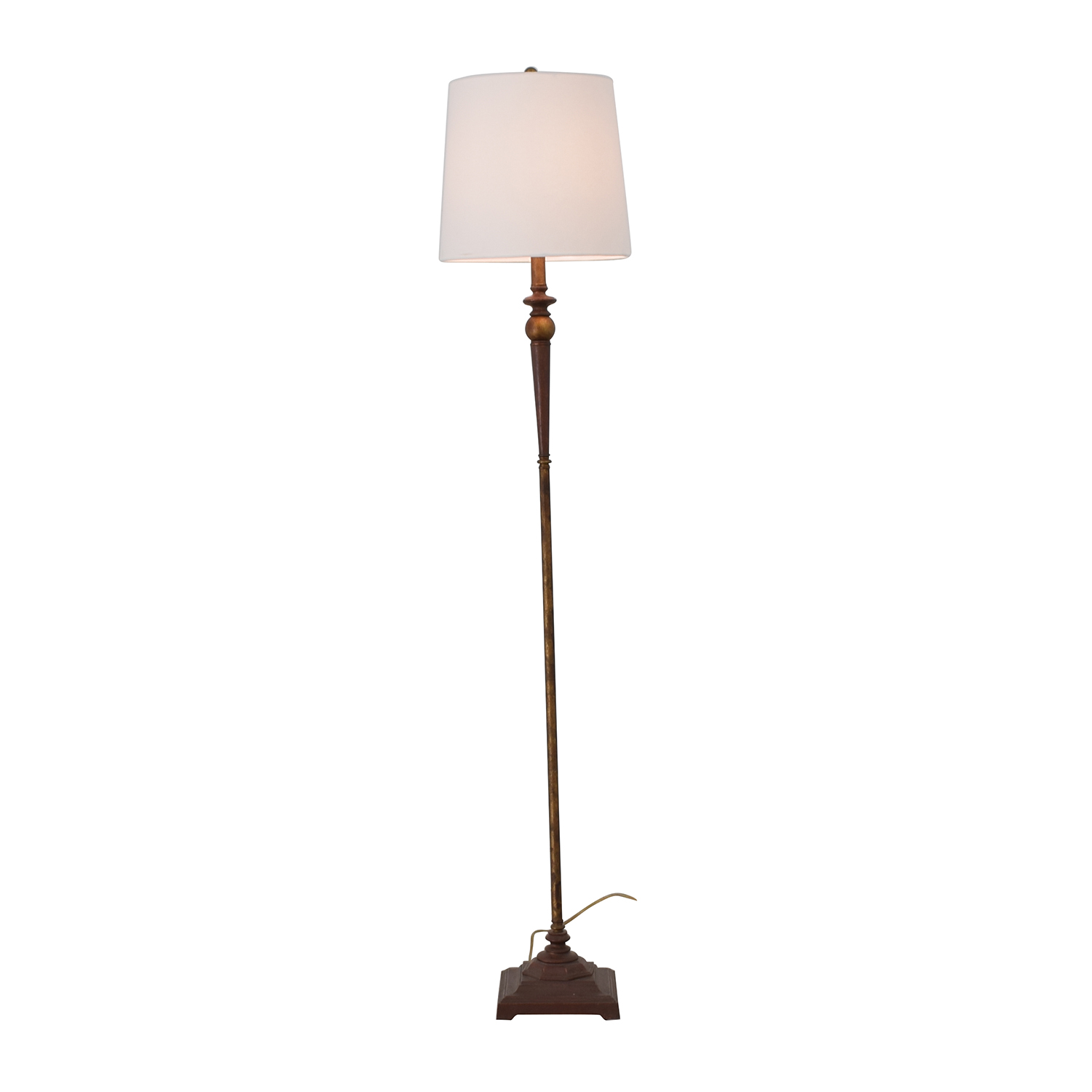 shop Distressed Floor Lamp  Lamps