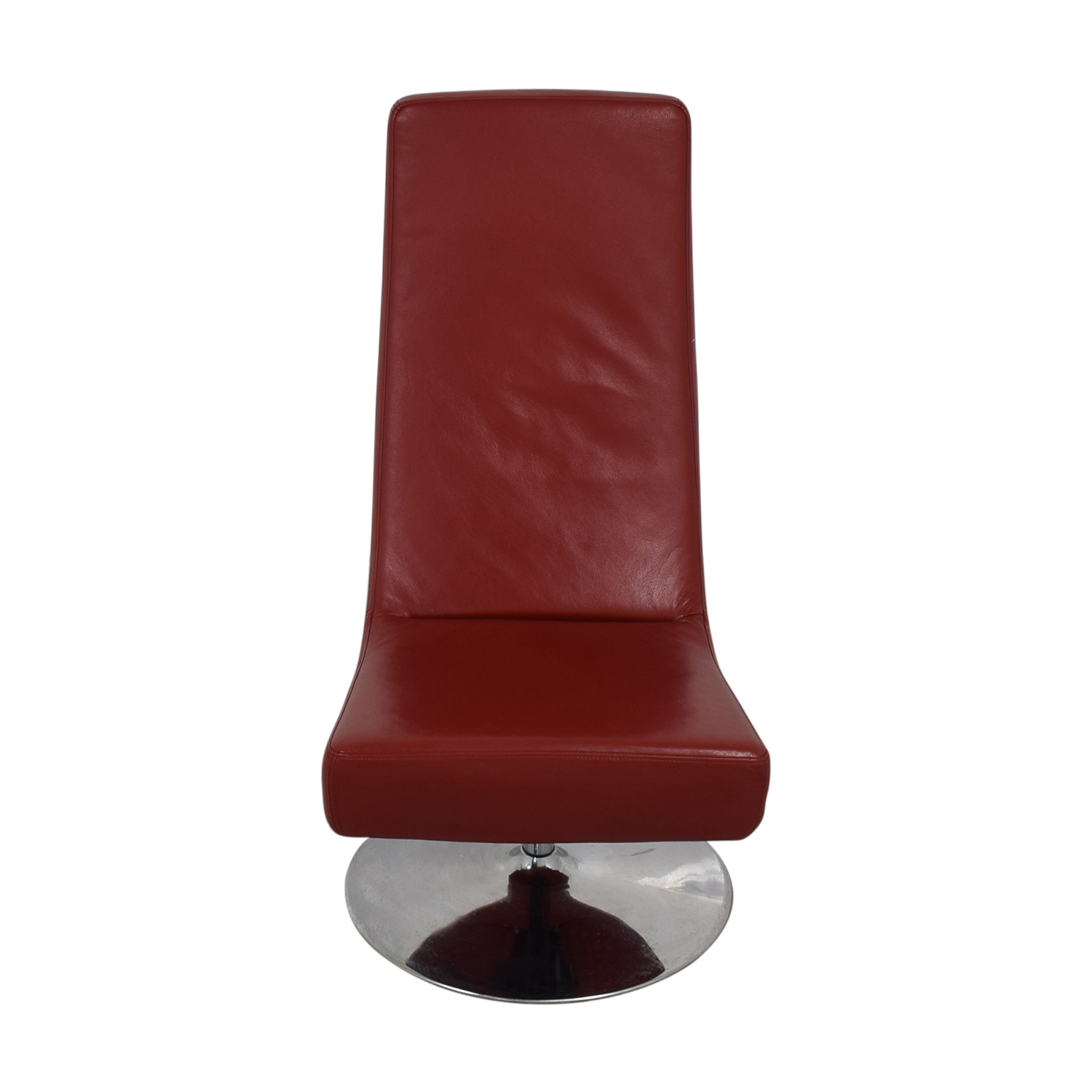 BoConcept Aero Style Red Office Swivel Chair / Accent Chairs
