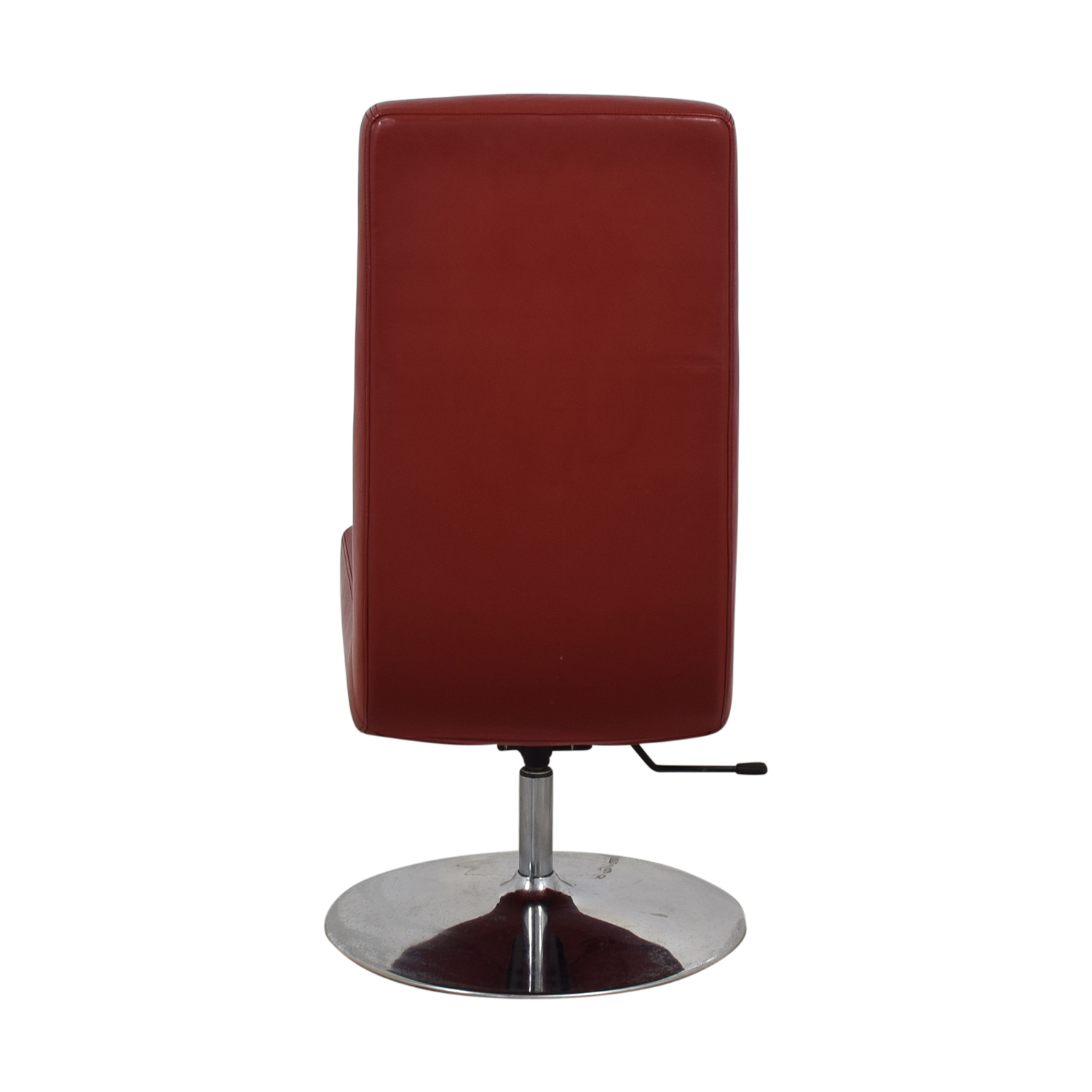 BoConcept Aero Style Red Office Swivel Chair / Chairs