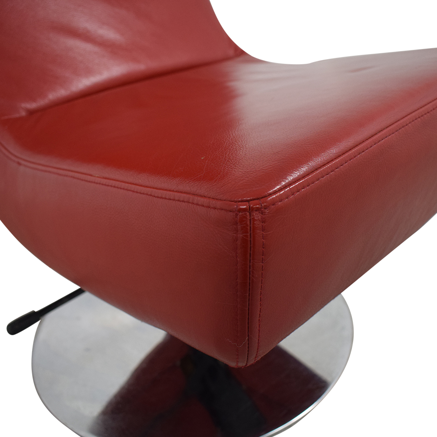 BoConcept BoConcept Aero Style Red Office Swivel Chair nj