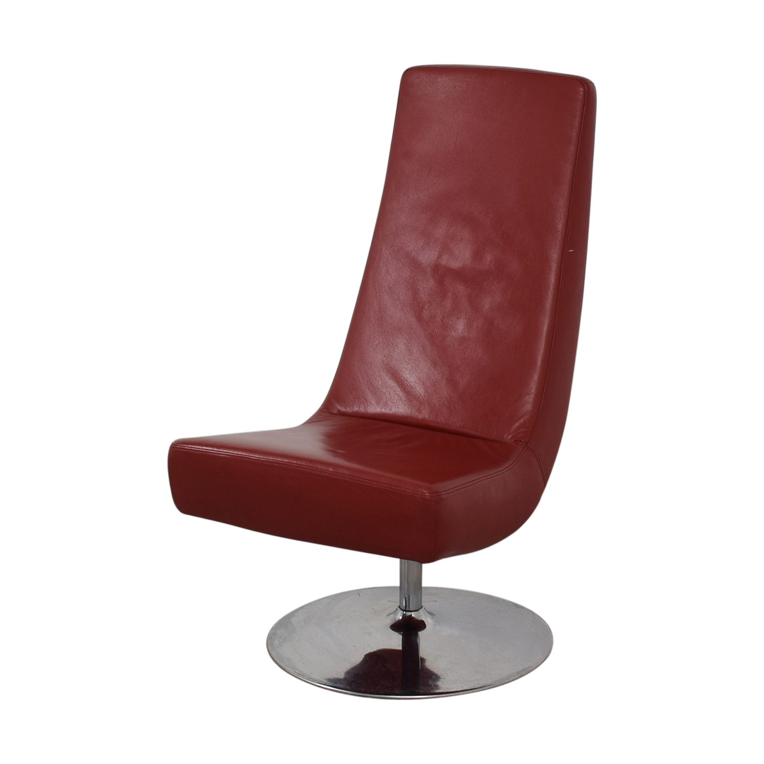 BoConcept BoConcept Aero Style Red Office Swivel Chair dimensions