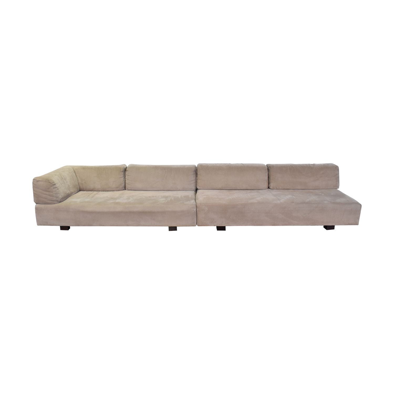 West Elm West Elm Tillary Beige L-Shaped Sectional for sale