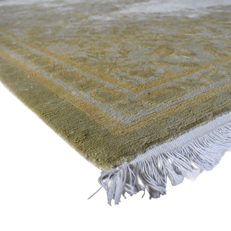 Beige Silk Carpet dimensions