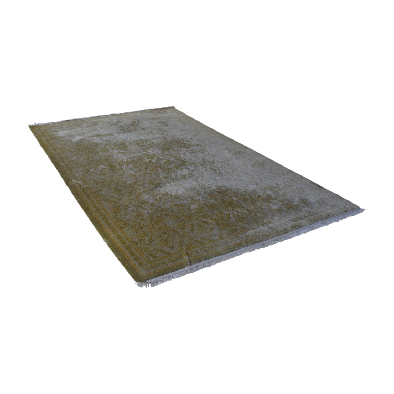 Beige Silk Carpet sale