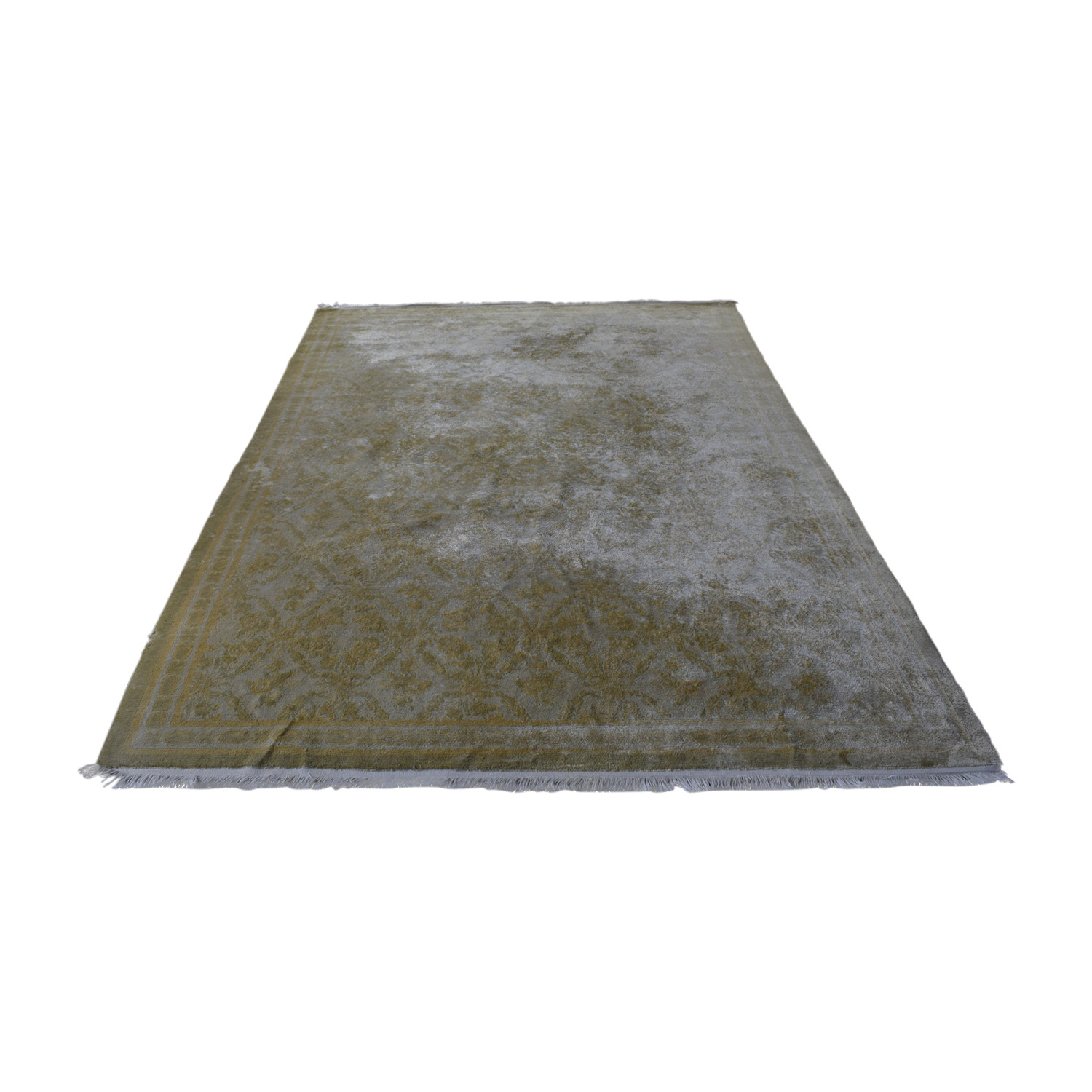 Beige Silk Carpet dimensions