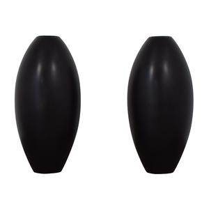 Sleek Modern Black Vases on sale