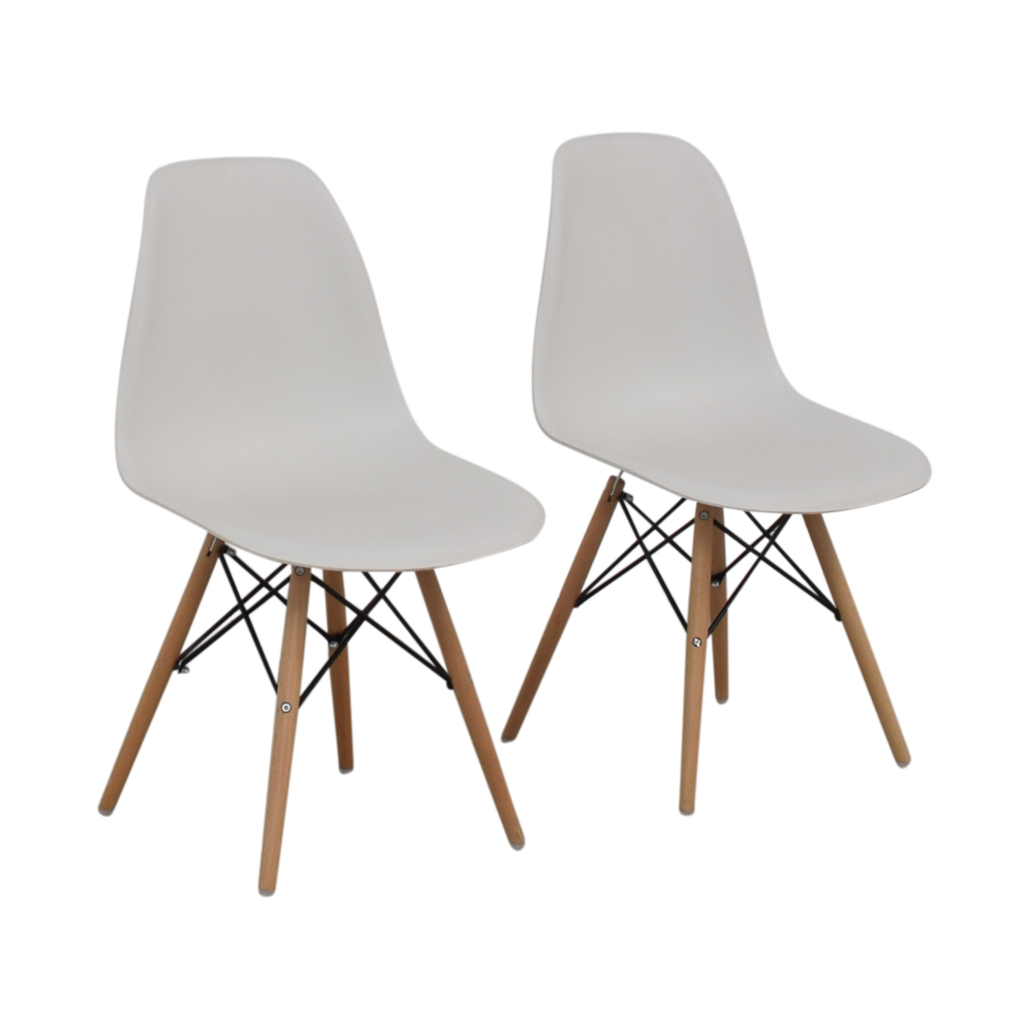 Wayfair Wayfair Eames Replica White Dining Chairs Dining Chairs