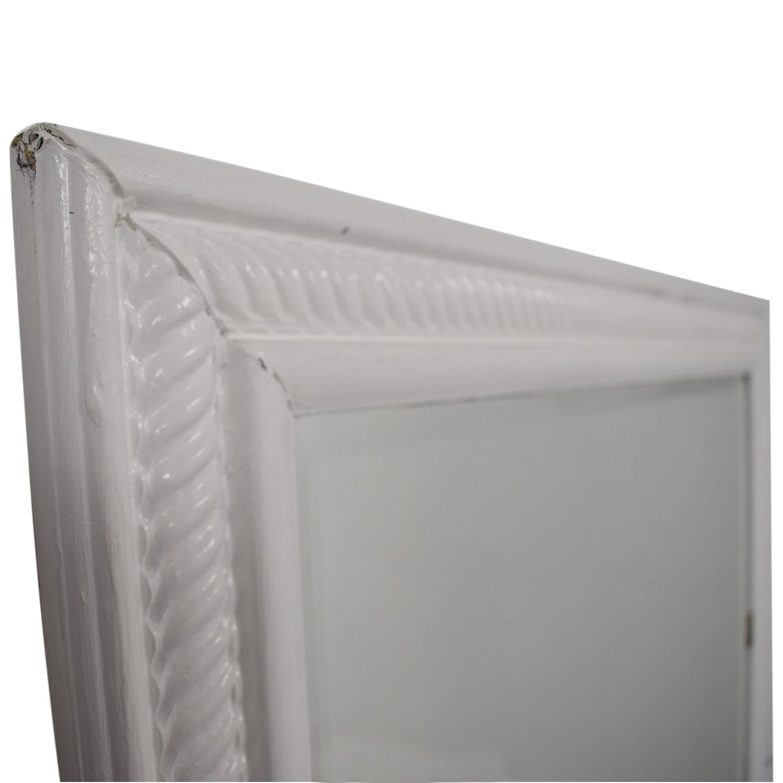 shop White Frames Wall Mirror
