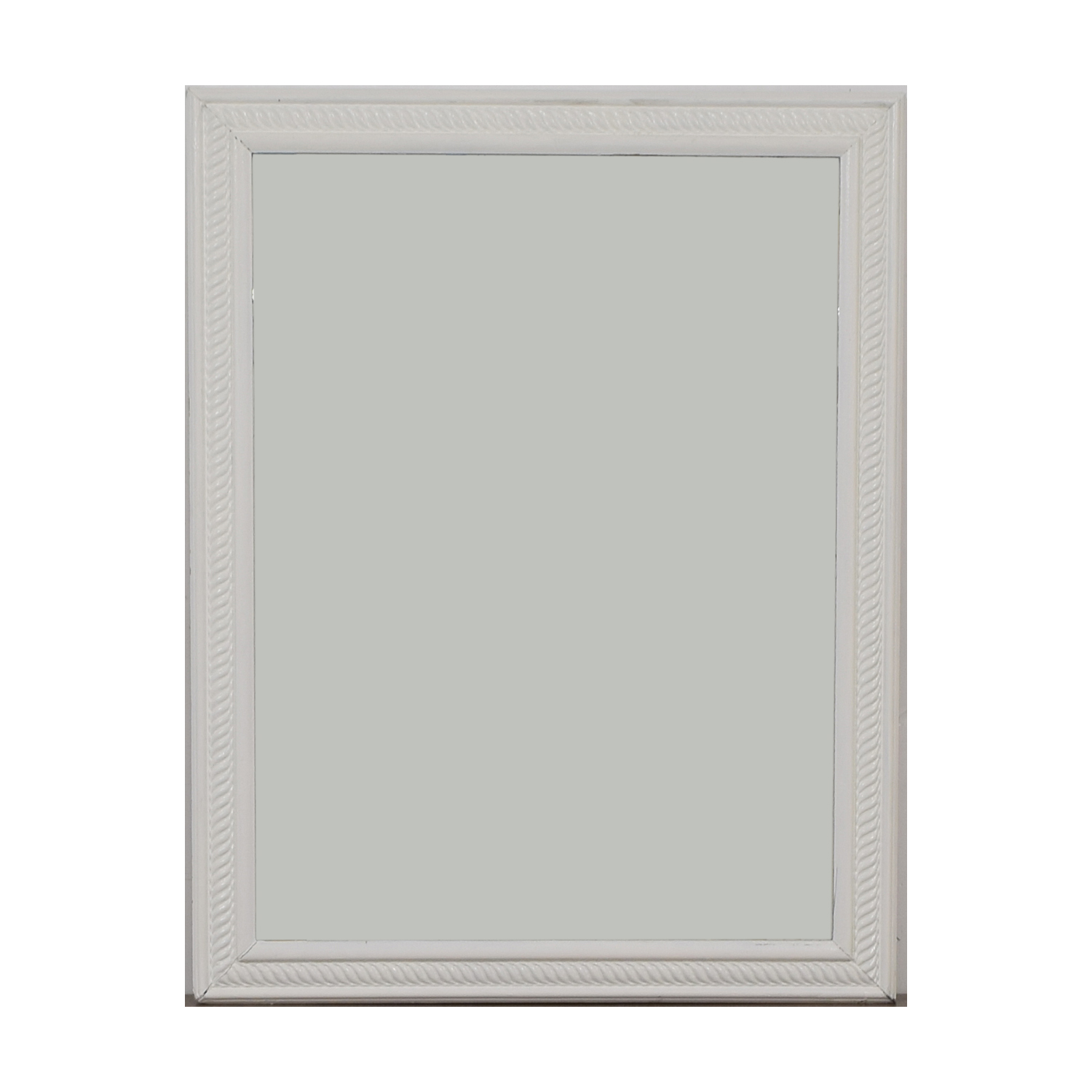 White Frames Wall Mirror for sale