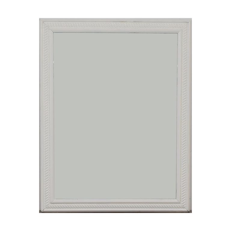 buy White Frames Wall Mirror