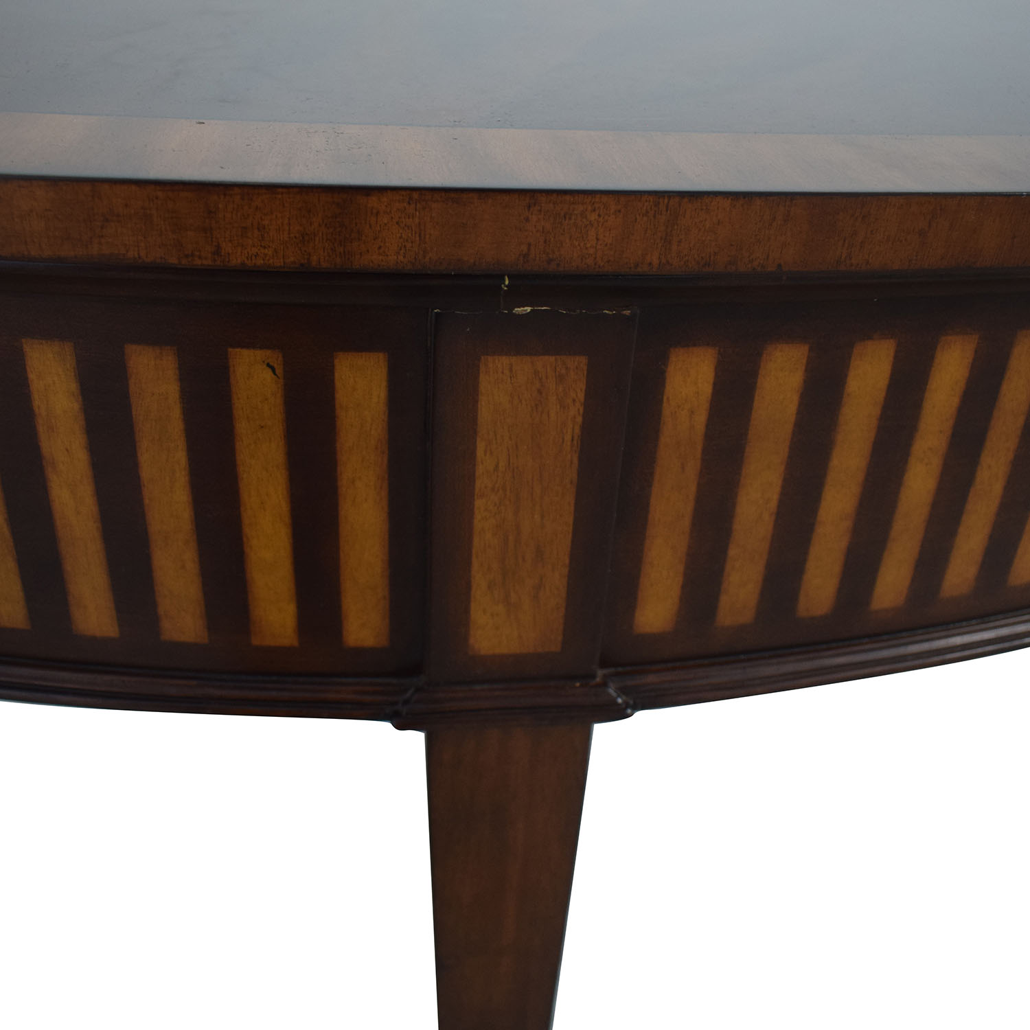 Ethan Allen Ethan Allen Newman Demilune Sofa Table Accent Tables