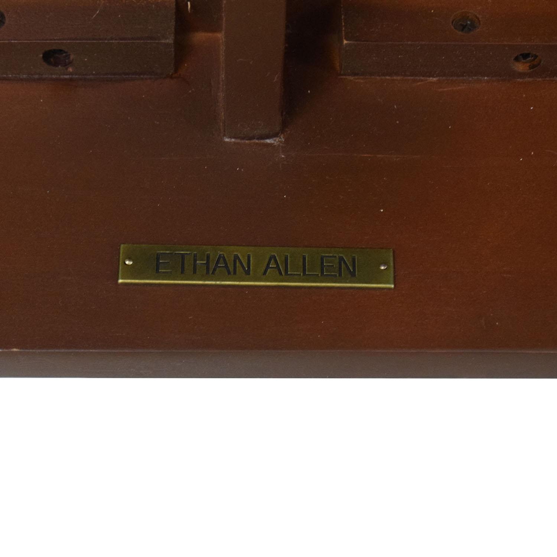 buy Ethan Allen Newman Demilune Sofa Table Ethan Allen