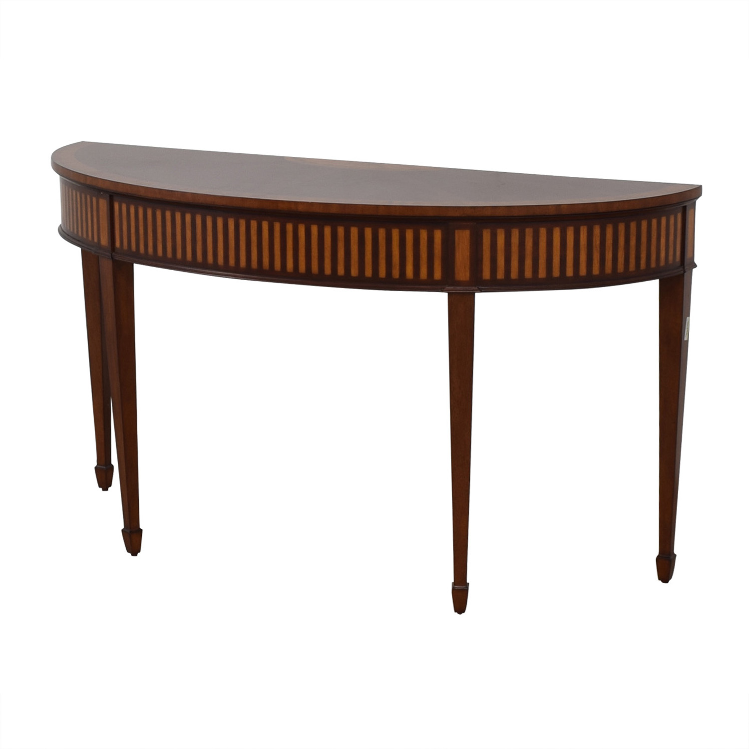 Ethan Allen Ethan Allen Newman Demilune Sofa Table price
