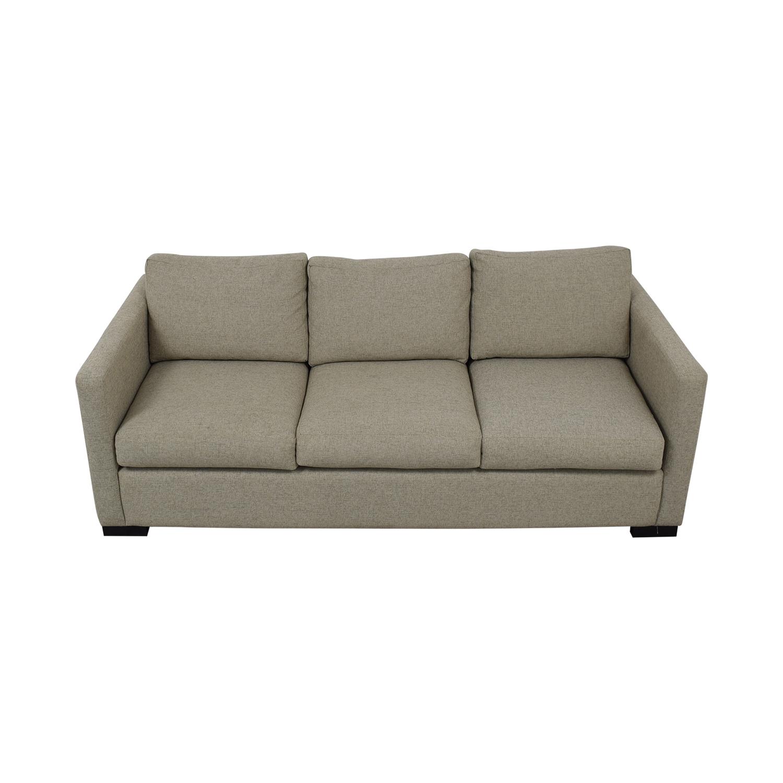 buy Contemporary Beige Linen Sofa  Classic Sofas