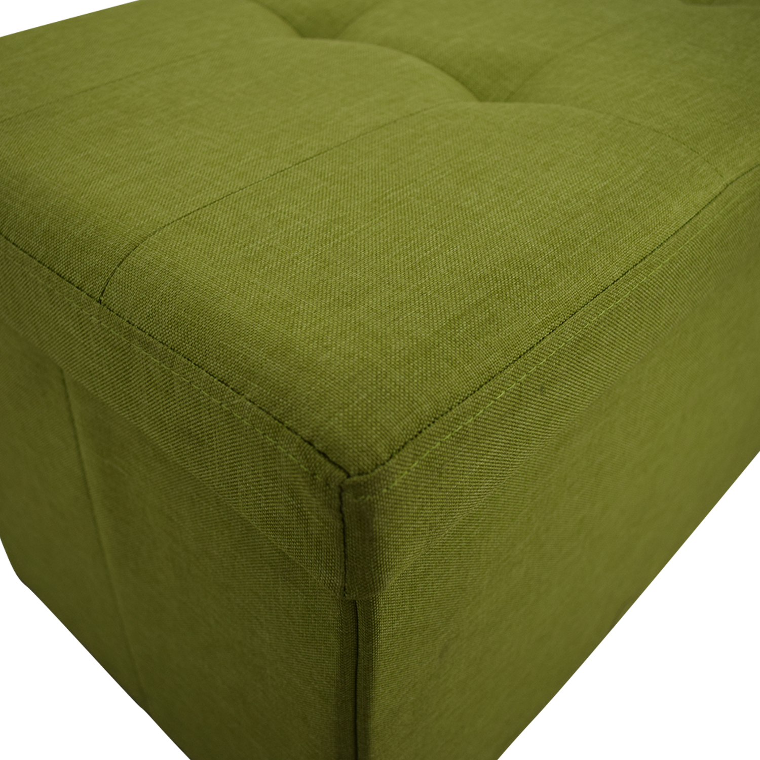 buy Lime Tufted Storage Bench  Benches