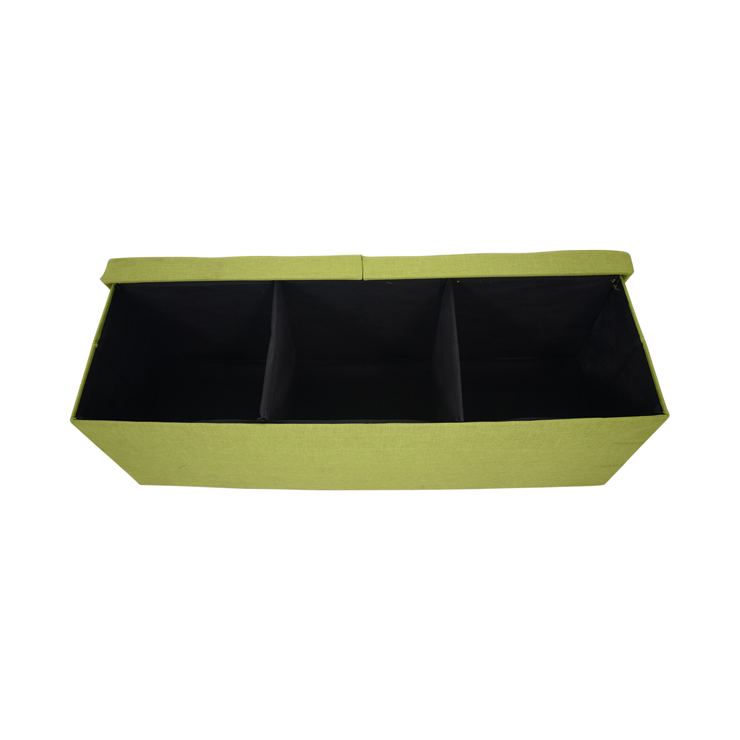 Lime Tufted Storage Bench / Benches