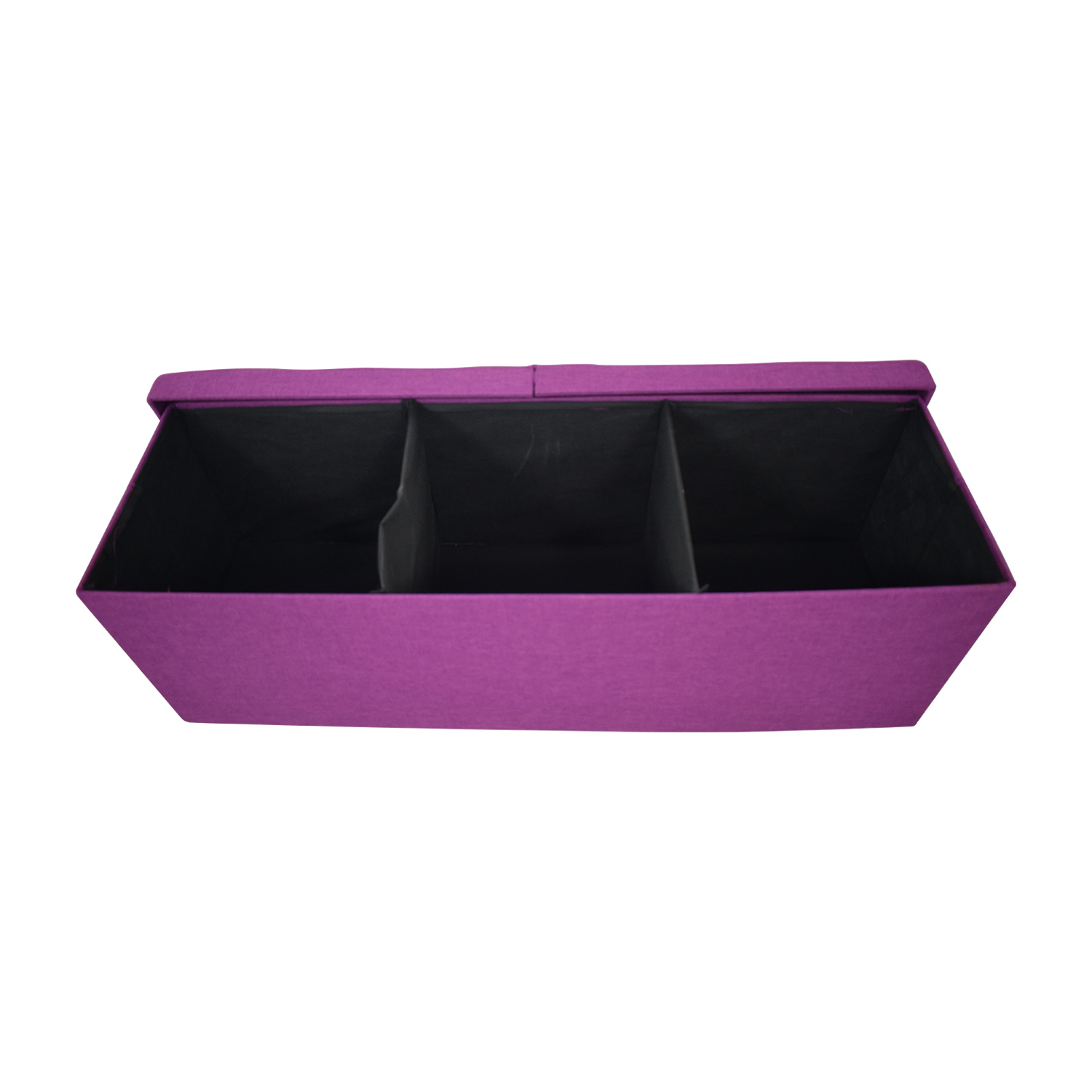 Magenta Tufted Storage Bench discount