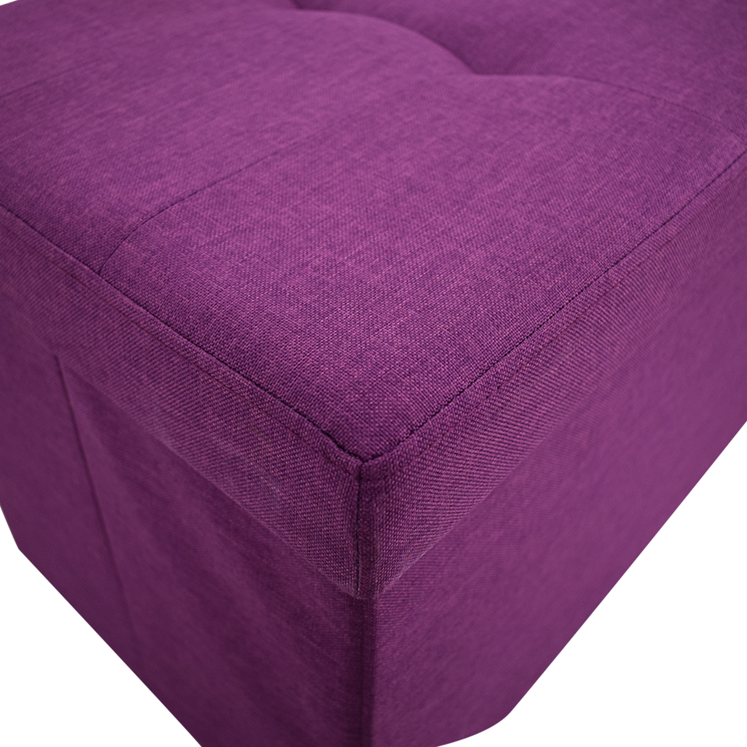 Magenta Tufted Storage Bench dimensions