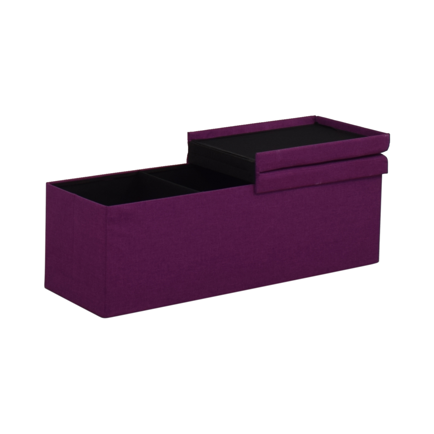 Magenta Tufted Storage Bench / Benches