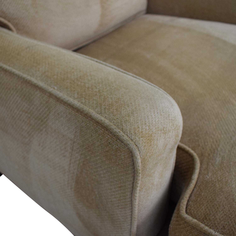 Williams Sonoma Williams Sonoma Beige Accent Chair nj