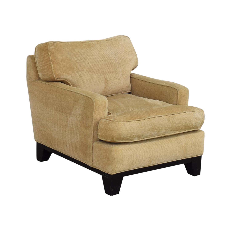 Williams Sonoma Williams Sonoma Beige Accent Chair coupon